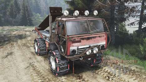 KamAZ Mongo [25.12.15] for Spin Tires