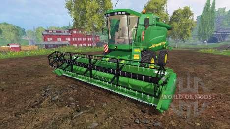 John Deere 9640 WTS for Farming Simulator 2015
