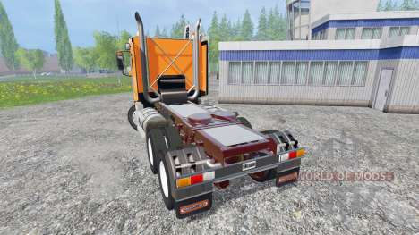 Freightliner Argosy [DayCab] for Farming Simulator 2015