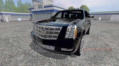 Cadillac Escalade for Farming Simulator 2015