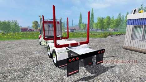 Kenworth T908 [USA] for Farming Simulator 2015