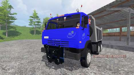 KamAZ-65115 v2.0 for Farming Simulator 2015