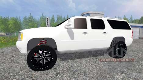 GMC Yukon for Farming Simulator 2015