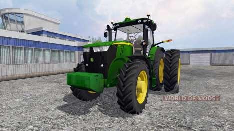 John Deere 7310R [USA] v1.5 for Farming Simulator 2015