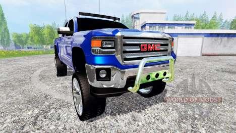 GMC Sierra 1500 2014 [lifted] for Farming Simulator 2015