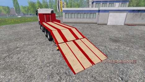 Renault Premium Lander [tow truck] for Farming Simulator 2015