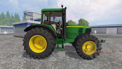 John Deere 6620 v2.0 for Farming Simulator 2015