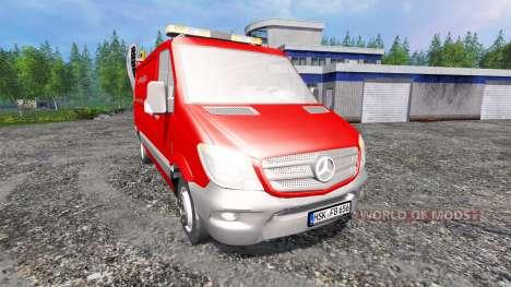 Mercedes-Benz Sprinter 2014 for Farming Simulator 2015