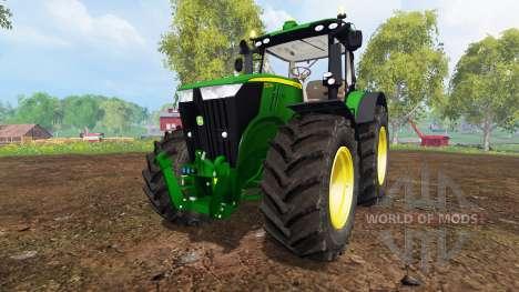 John Deere 7310R v3.5 for Farming Simulator 2015