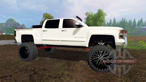 Chevrolet Silverado 2015 for Farming Simulator 2015