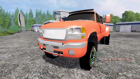 GMC Sierra 3500 [lifted] for Farming Simulator 2015