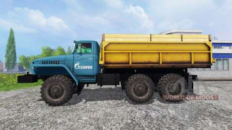 Ural-4320 Gazprom for Farming Simulator 2015