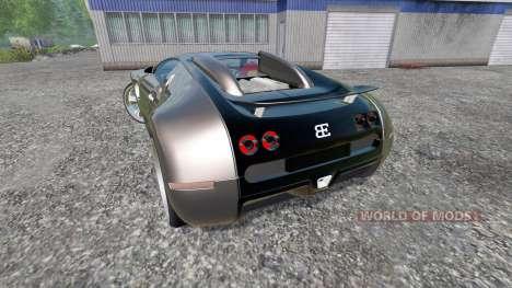 Bugatti Veyron v2.0 for Farming Simulator 2015
