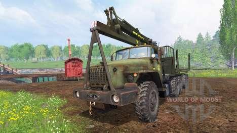 Ural-4320 [Forester] v1.1 for Farming Simulator 2015
