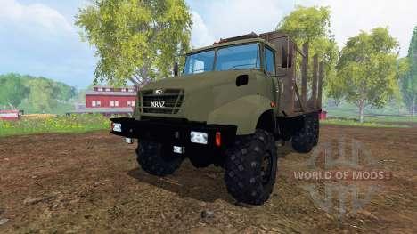 The KrAZ B18.1 [timber] for Farming Simulator 2015