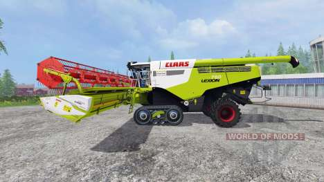 CLAAS Lexion 780TT [century edition] v2.0 for Farming Simulator 2015