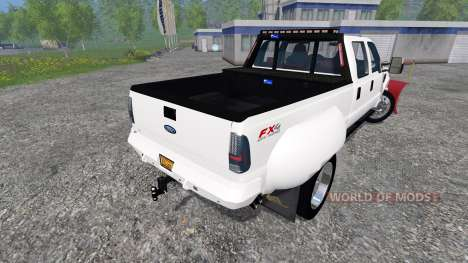 Ford F-250 [snow plow] for Farming Simulator 2015