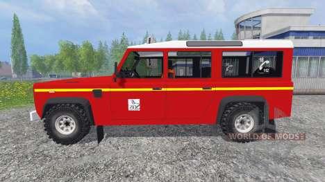 Land Rover Defender 110 for Farming Simulator 2015