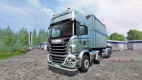 Scania R730 [bruks] v1.1.1 for Farming Simulator 2015