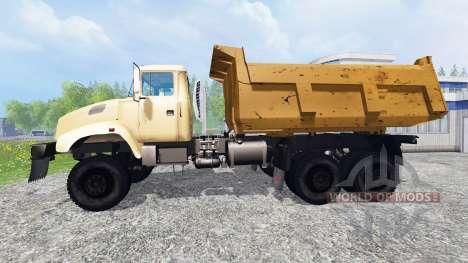 The KrAZ B18.1 v1.0 for Farming Simulator 2015