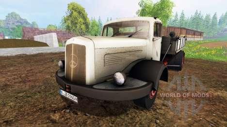 Mercedes-Benz 334K v1.05 for Farming Simulator 2015