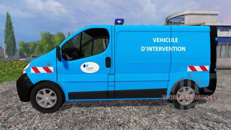 Renault Trafic [urgence gaz] for Farming Simulator 2015
