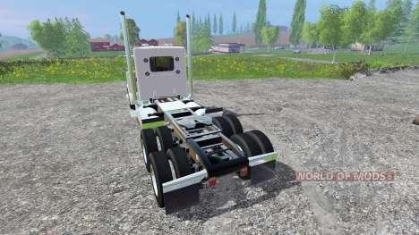 Peterbilt 379 2007 [daycab] v2.0 for Farming Simulator 2015