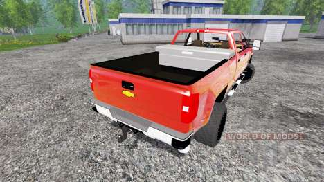 Chevrolet Silverado 3500 [plow truck] for Farming Simulator 2015