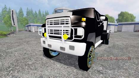 Ford F-650 [flatbed] for Farming Simulator 2015