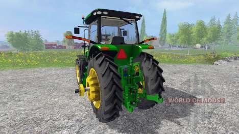 John Deere 8370R [Degelman silage blade] for Farming Simulator 2015