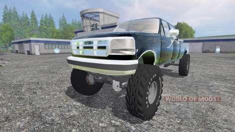Ford F-250 [diesel] for Farming Simulator 2015