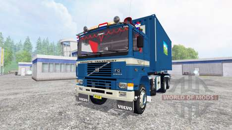 Volvo F12 HKL v2.0 for Farming Simulator 2015