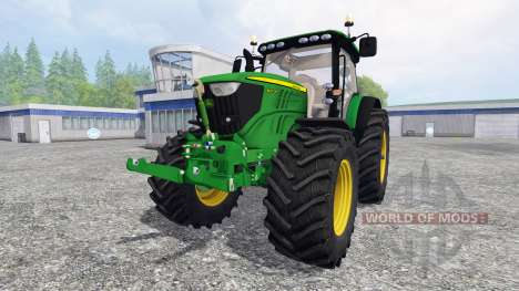 John Deere 6210R v1.0 for Farming Simulator 2015