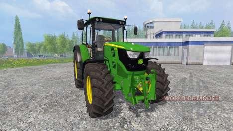 John Deere 6115M [pack] for Farming Simulator 2015