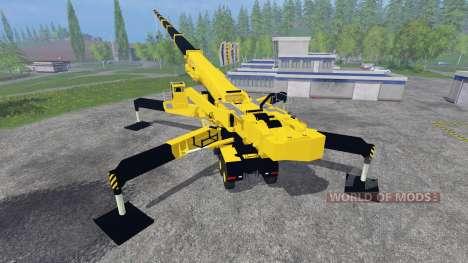 Liebherr LTM 11200 9.1 [Caterpillar] v2.0 for Farming Simulator 2015