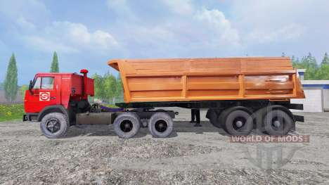 KamAZ-5410 [northwestern Alliance of designers-9 for Farming Simulator 2015