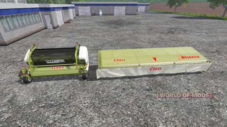CLAAS EasyFlow300 and XDisc 6200 for Farming Simulator 2015