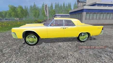 Lincoln Continental 1962 for Farming Simulator 2015