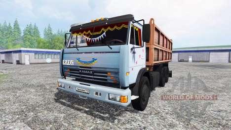 KamAZ-45143 v2.0 for Farming Simulator 2015