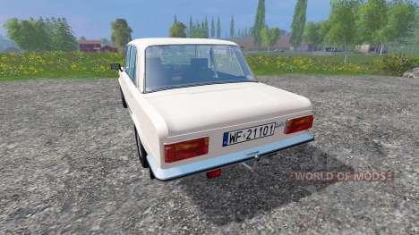 Fiat 125p for Farming Simulator 2015