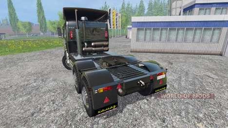 KamAZ-54115 v2.0 for Farming Simulator 2015