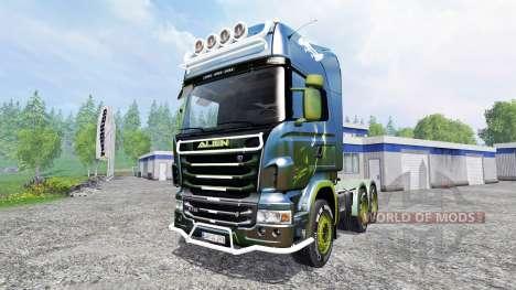 Scania R730 [alien] v2.1 for Farming Simulator 2015