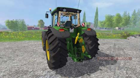 John Deere 8530 v4.0 for Farming Simulator 2015