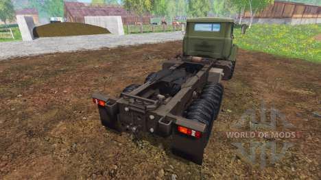 The KrAZ B18.1 v3.0 for Farming Simulator 2015