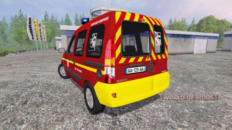 Renault Kangoo [fire service] for Farming Simulator 2015