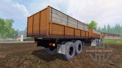 KamAZ-55102 v1.3 for Farming Simulator 2015
