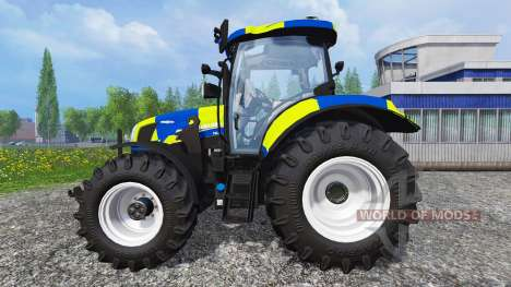 New Holland T6.160 Police for Farming Simulator 2015