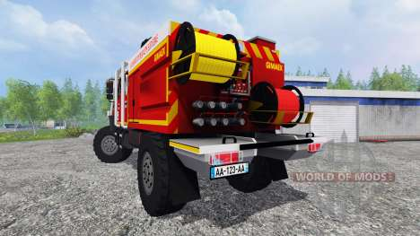Mercedes-Benz Unimog [fire service] for Farming Simulator 2015