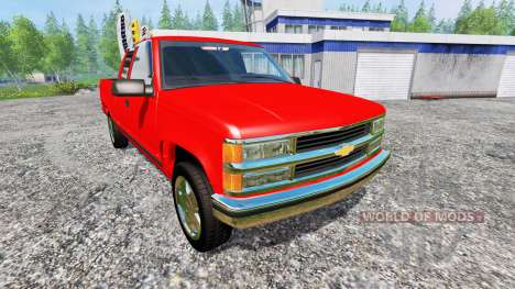 Chevrolet Silverado C1500 for Farming Simulator 2015