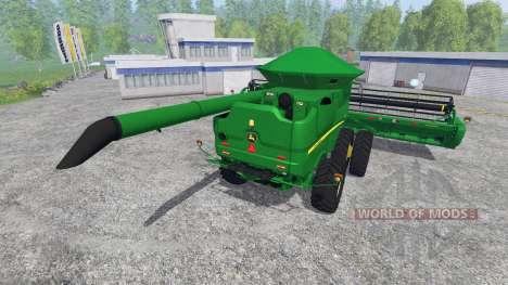 John Deere S670 for Farming Simulator 2015